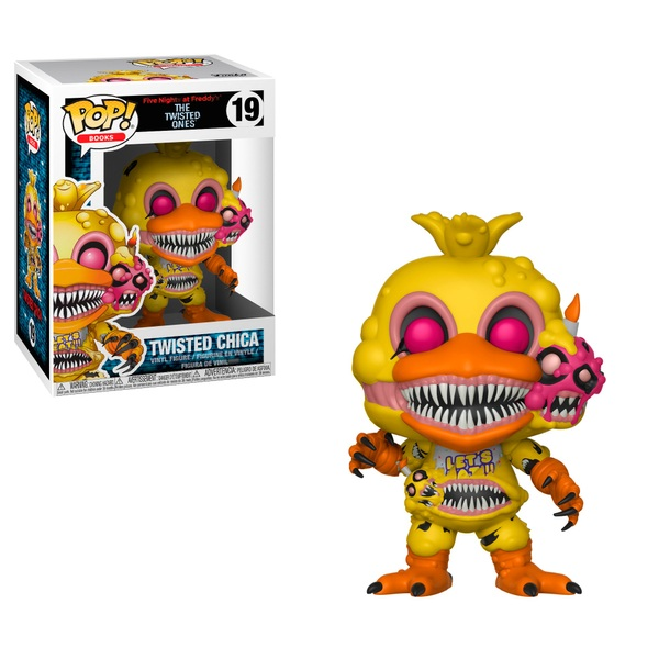 POP! Vinyl Five Nights at Freddys Twisted Chica Figure