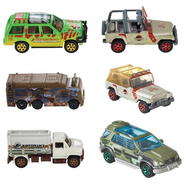 1:64 Matchbox Jurassic World Vehicles - Assortment