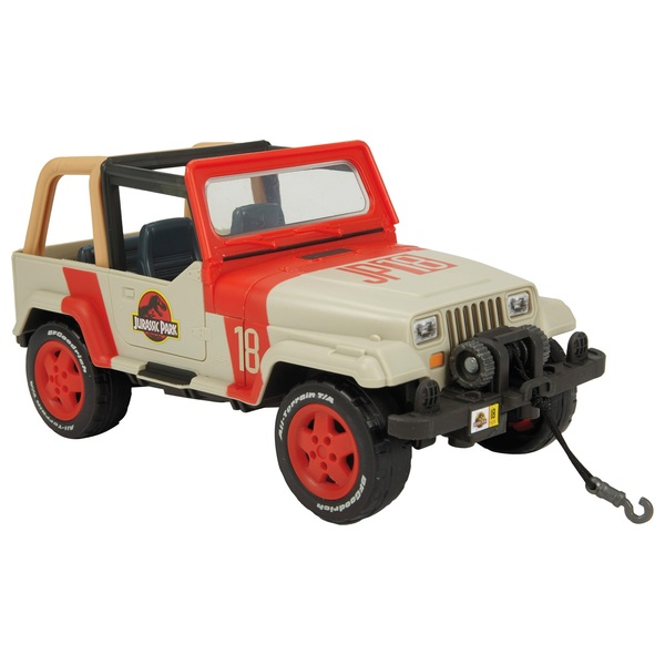 Winch For Jeep >> Jurassic World Legacy Collection Matchbox Jeep Wrangler With Winch