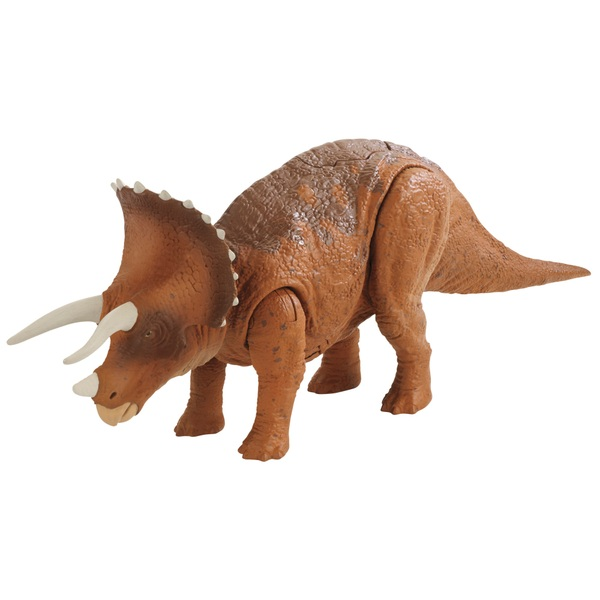 jurassic world roarivores triceratops dinosaur jurassic world uk