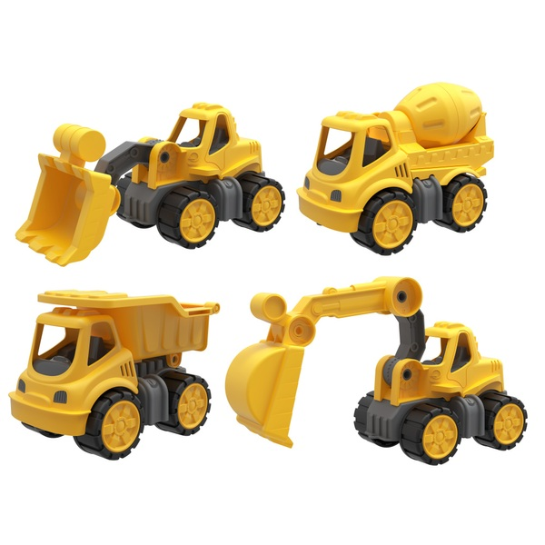 4 Pack Construction Playset