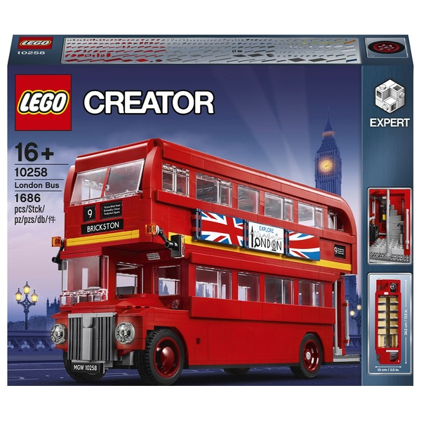LEGO 10258 Creator Expert London Bus Collectable Model