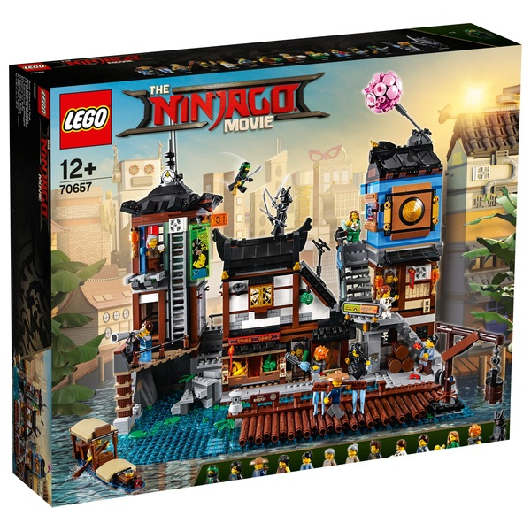 LEGO 70657 Ninjago Movie Ninjago City Docks