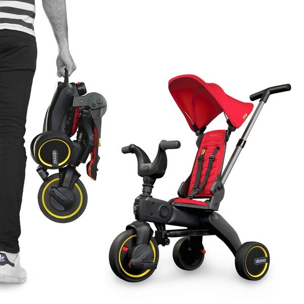 Doona Liki Trike 4 in 1 Flame Red