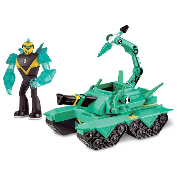 Ben 10 Alien Vehicle - Diamond Head Power Tank