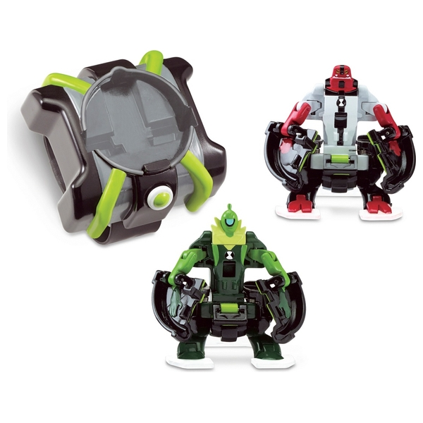 Ben 10 Fourarms and Wildvine Omni Launch Battle Figures