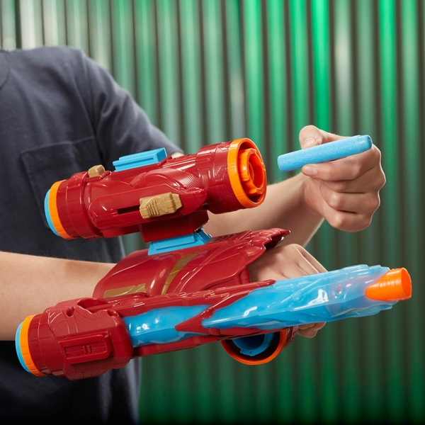 Marvel Avengers Infinity War Nerf Iron Man Assembler Gear ...