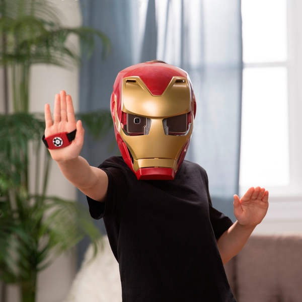 Marvel Avengers: Infinity War Hero Vision Iron Man Augmented Reality Mask E