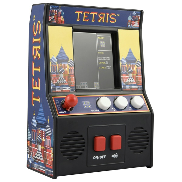 Tetris Mini Arcade Game - Other Action Figures & Playsets UK