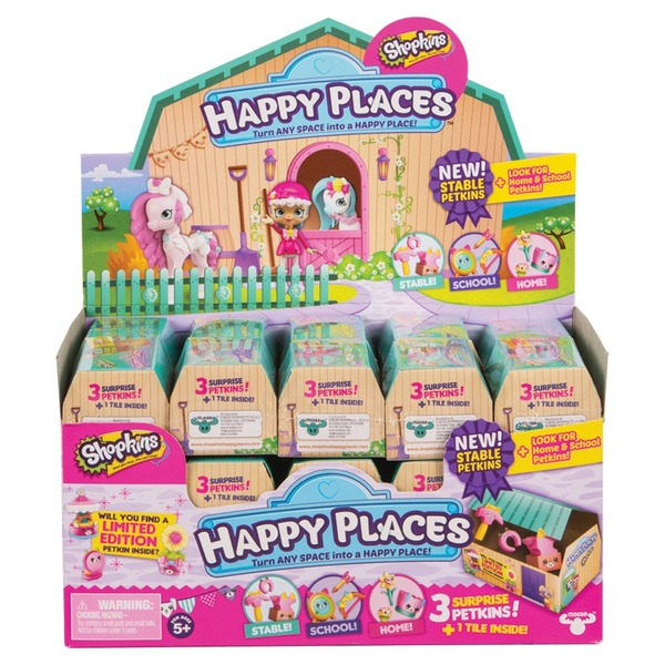 Shopkins Happy Places Delivery Pack Series 4 - Assortment