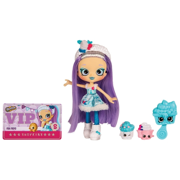 Shopkins Shoppies Fria Froyo Doll Shopkins Uk