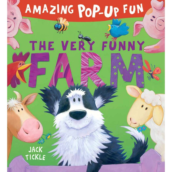The Very Funny Farm Pop Up Book by Jack Tickle