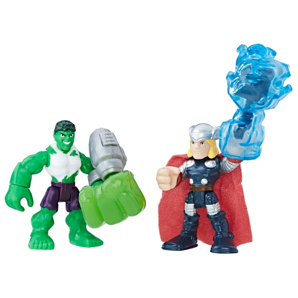 Hulk and Thor Playskool Heroes Marvel Super Hero Adventures