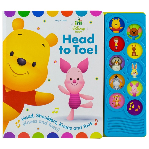 Disney Baby Head to Toe Listen and Learn Board Book