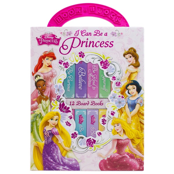 Disney Princess: My First Library Board Book Set