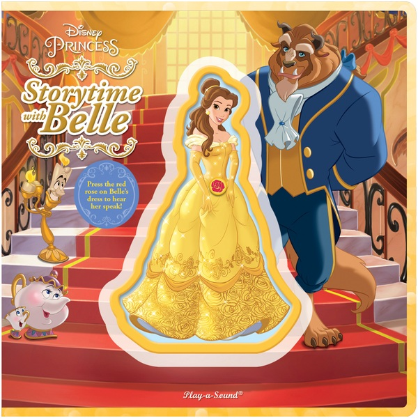 Disney Princess Storytime With Belle Talking Character Sound Book