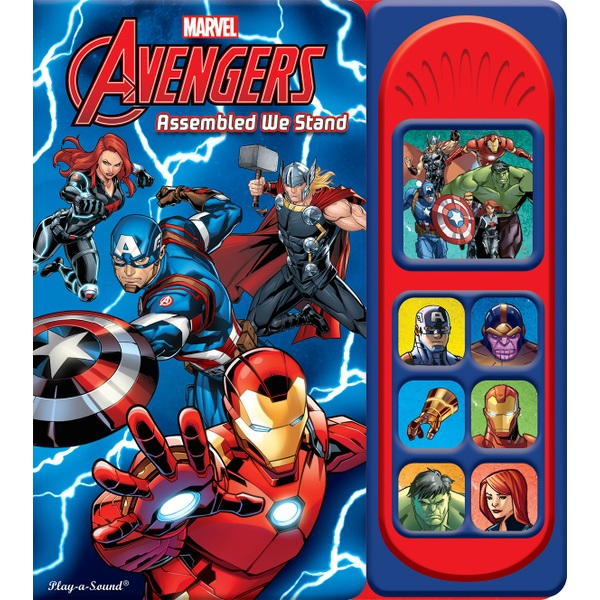 Marvel Avengers Assembled We Stand Little Sound Book