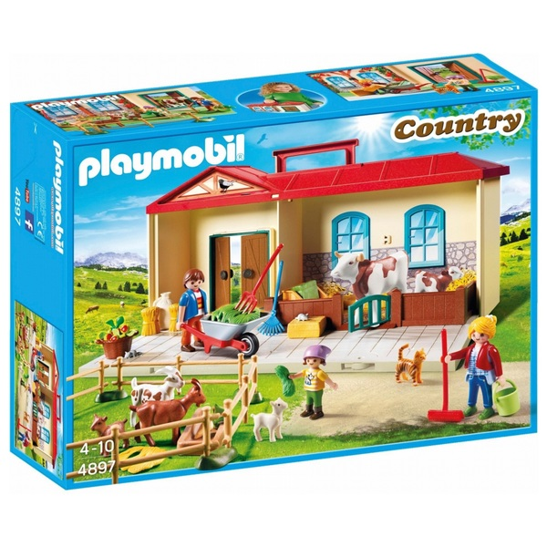Playmobil 4897 Country Take Along Farm