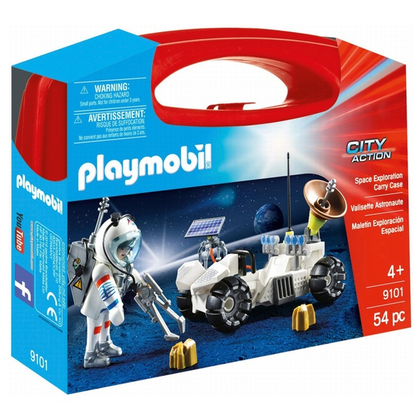 Playmobil 9101 City Action Space Exploration Carry Case