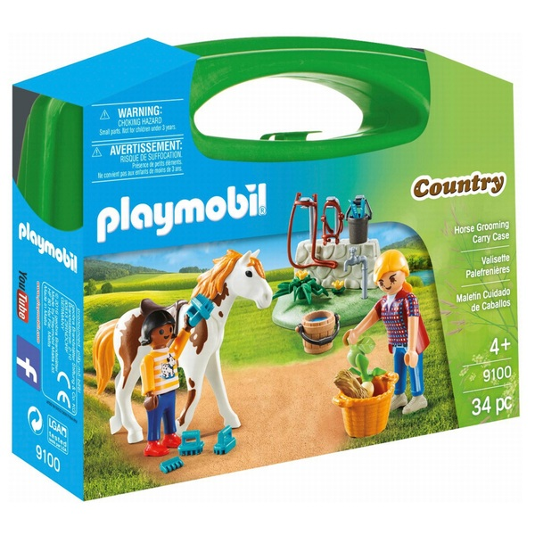 Playmobil 9100 Horse Grooming Carry Case