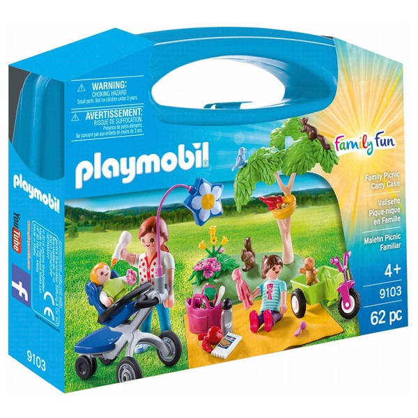 Playmobil 9103 Family Fun Family Picnic Large Carry Case