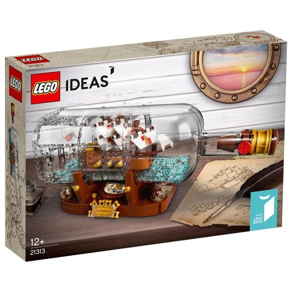 LEGO 21313 Ideas Ship in a Bottle