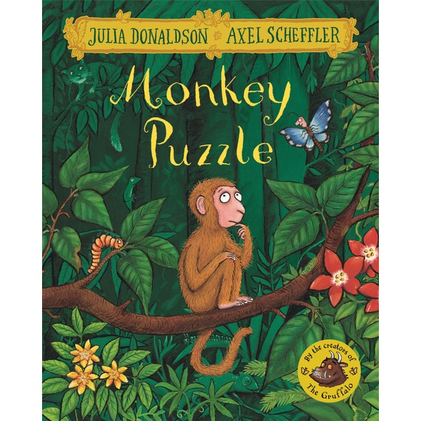 Monkey Puzzle PB Book by Julia Donaldson