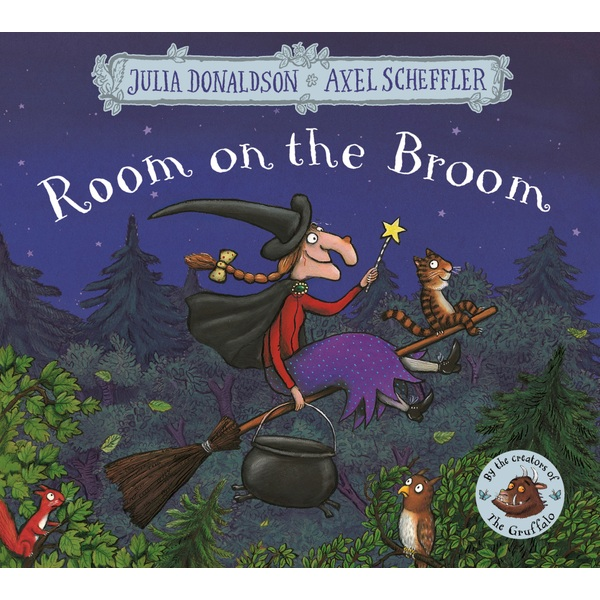 Room on the Broom PB Book By Julia Donaldson