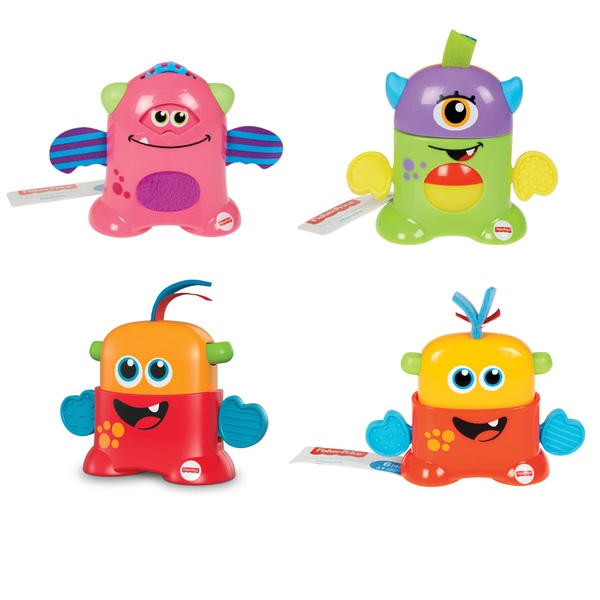 Fisher-Price Tote-Along Monsters