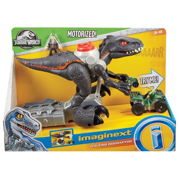 Jurassic World Imaginext Walking Indoraptor - Jurassic ...