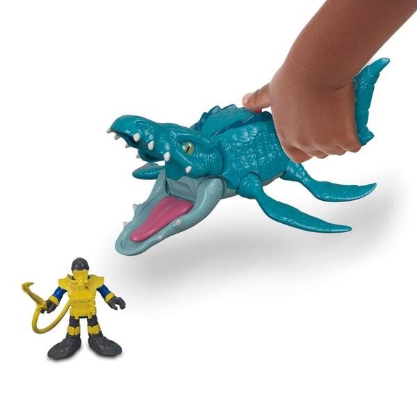 Imaginext Jurassic World Mosasaurus & Diver