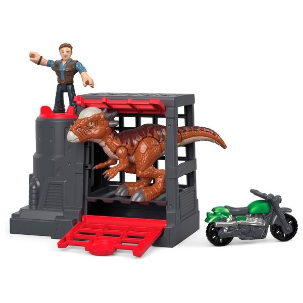 Imaginext Jurassic World Stygimoloch & Owen