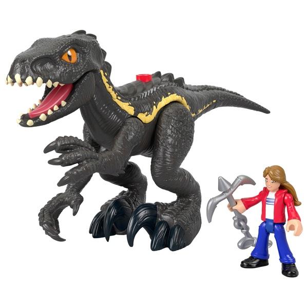 Imaginext Jurassic World Indoraptor and Maisie