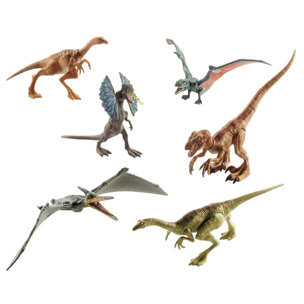 Jurassic World Legacy Collection 6-pack Dinosaurs
