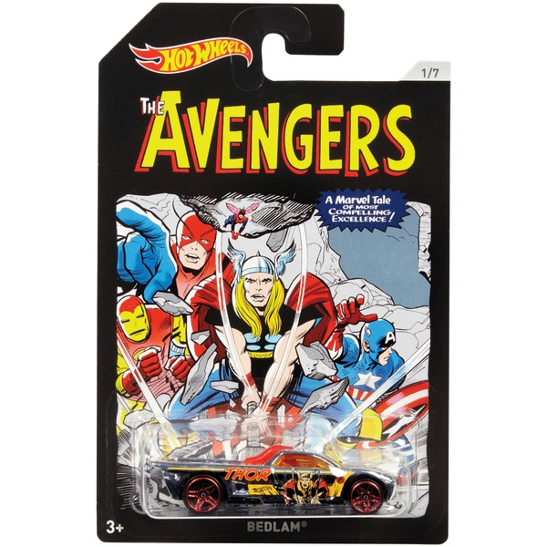Hot Wheels Avengers Vehicle - Assortment