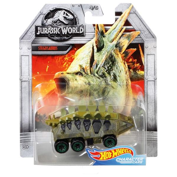 1:64 Stegosaurus Vehicle Hot Wheels Jurassic World