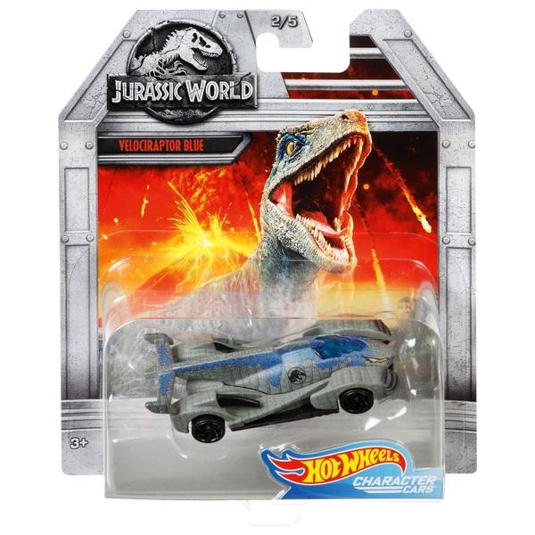 1:64 Hot Wheels Velociraptor Blue Vehicle