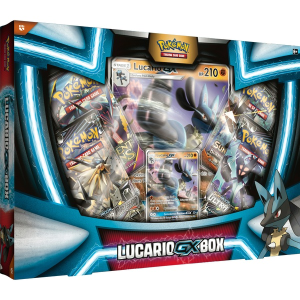 Pokémon TCG: Lucario-GX Box