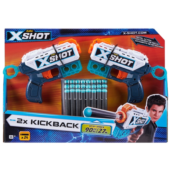X-Shot Kickback Twin Pack