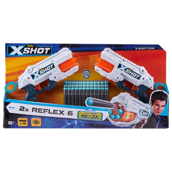 X-Shot Reflex TK-6 Blaster Twin Pack