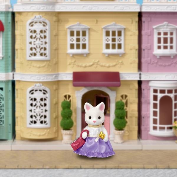 Sylvanian Families - Town Girl series - Silk Cat