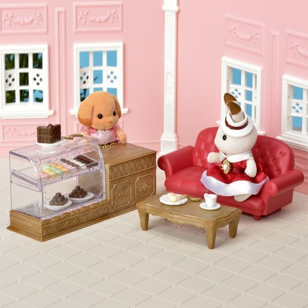 Sylvanian Families - Town Series - Chocolate Lounge