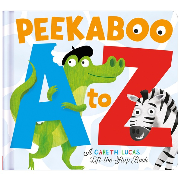 Peekaboo A to Z Board Book