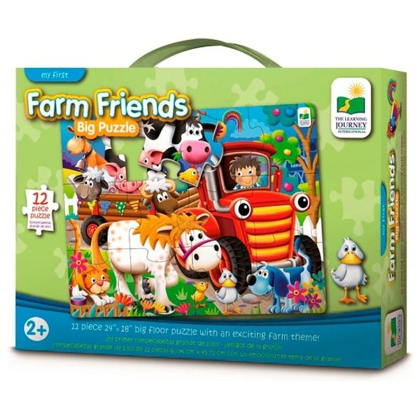 My First Big Floor Puzzle Farm Friends