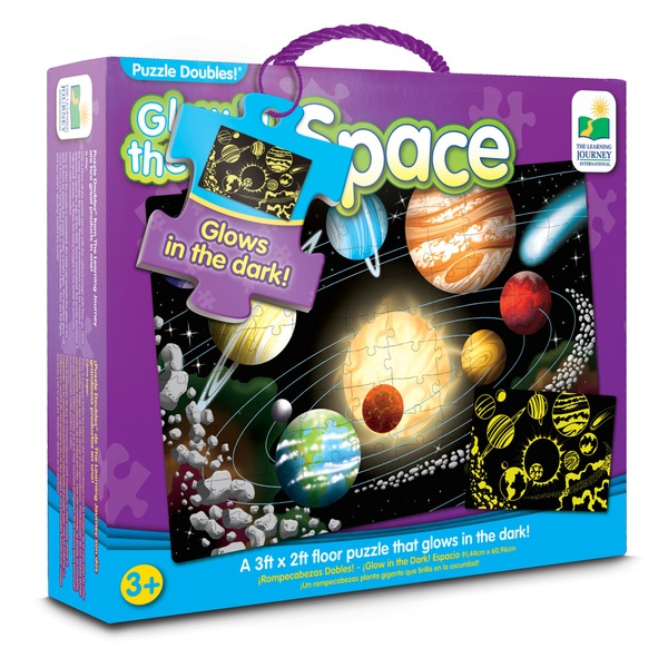Glow in Dark: Space Puzzle