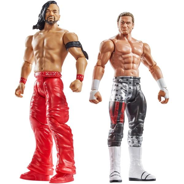 WWE Battle Pack Series 53 Shinsuke Nakamura & Dolph Ziggler