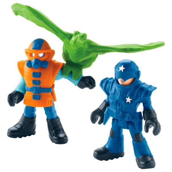 Imaginext Jurassic World Park Workers & Pterodactyl