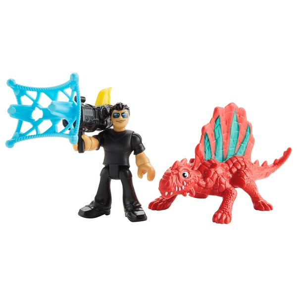 Imaginext Jurassic World Dr. Malcolm & Dimetrodon