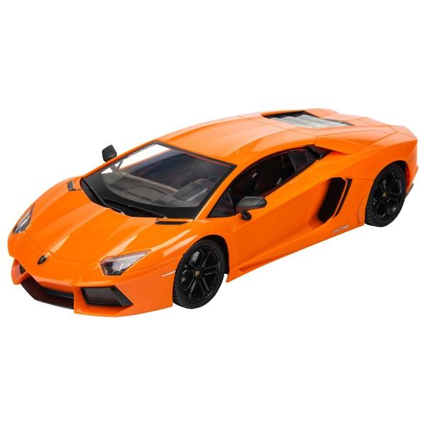 Remote Control 1:14 Lamborghini Aventador Coupe Orange Car