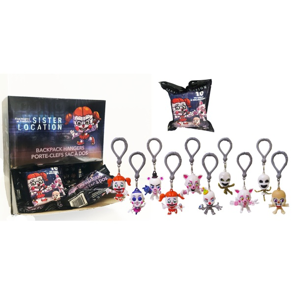 Five Nights at Freddy's Sisters Location Hangers